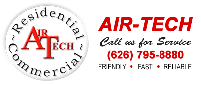 Air-Tech Air Conditioning & Heating 204 S. Rosemead Blvd. Pasadena, CA 91107 - Phone: (626) 795-8880