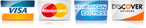For AC in Pasadena CA, we accept most major credit cards.